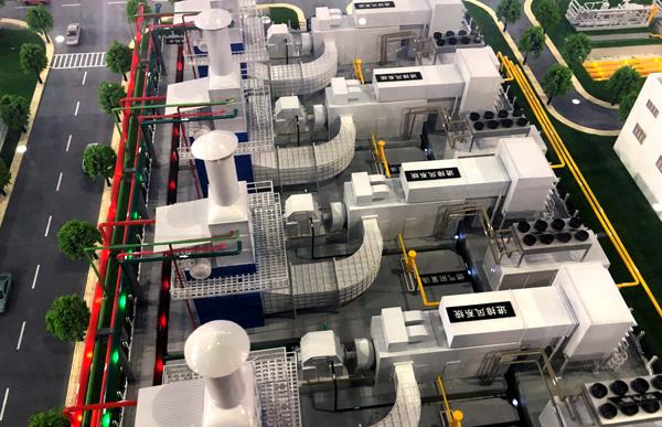 许昌厂区机械模型制作效果展示