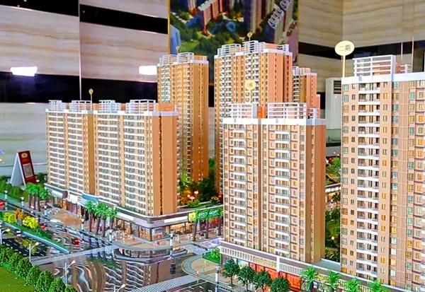 开封楼盘沙盘模型商业住宅一体式