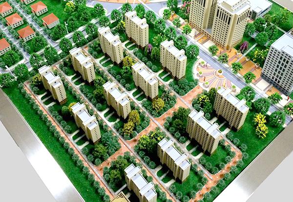 洛阳别墅区沙盘模型