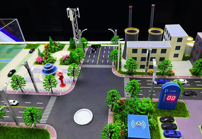 园区沙盘工业模型设计效果展示