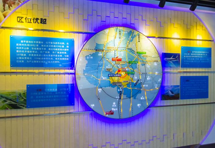 农场项目规划郑州区位沙盘规划模型图案例