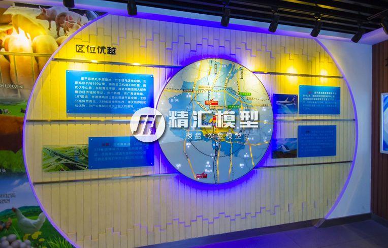 郑州区位沙盘模型