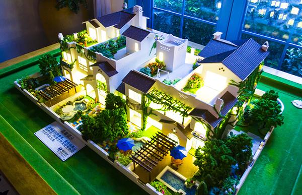 郑州独栋别墅沙盘模型案例效果展示