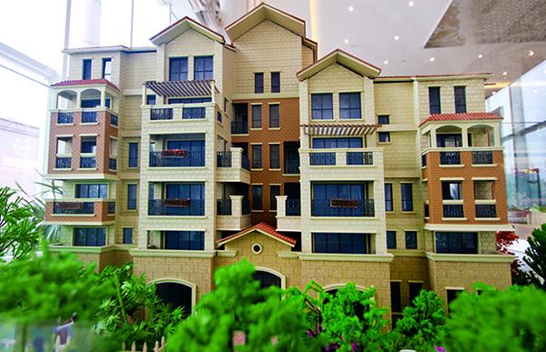 洛阳沙盘模型多层洋房设计效果图示