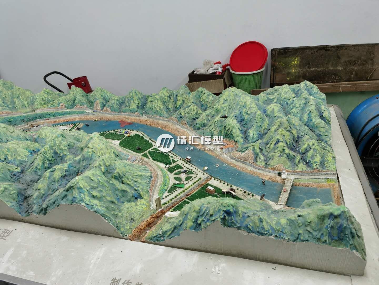 浅析地形地貌沙盘模型制作教程